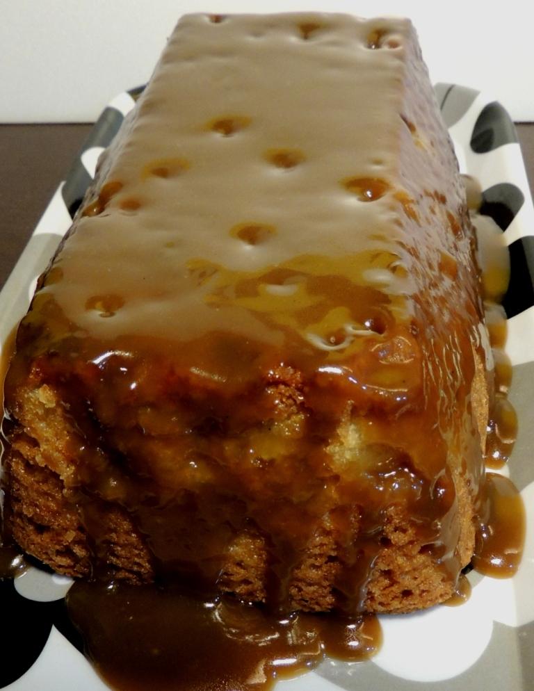 Apple Cake Butterscotch Sauce