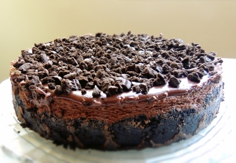 oreo chocolate cheesecake