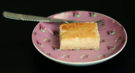 cheese pudding slice
