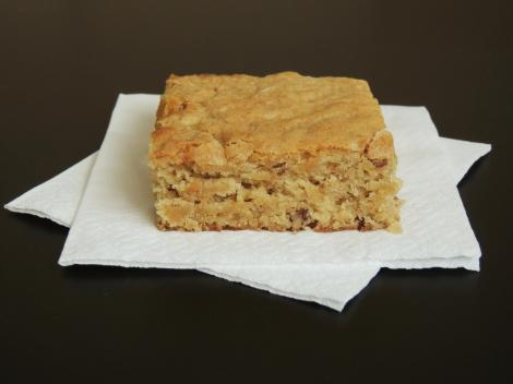 banana blondies