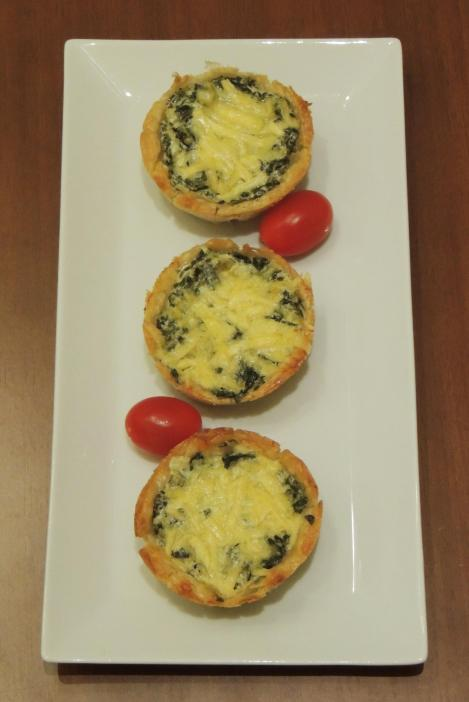spinach and cheese pies