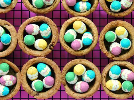 Easter cookie nests