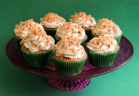 apple and butterscotch cupcakes